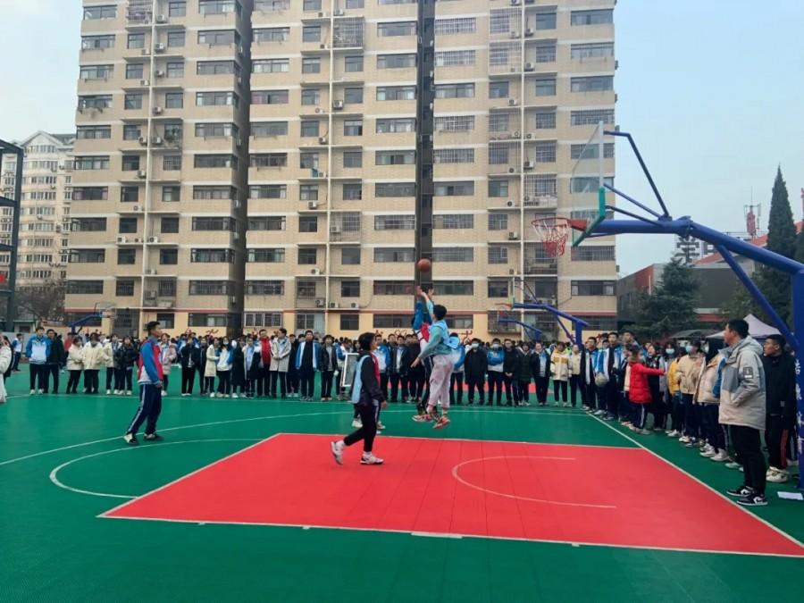 篮球比赛完美收官 运动校园精彩待续